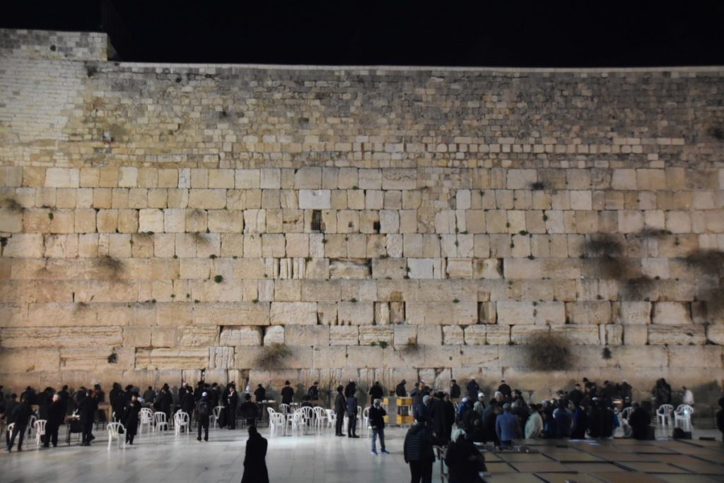 Western Wall February 2018 Israel Tour with John DeLancey