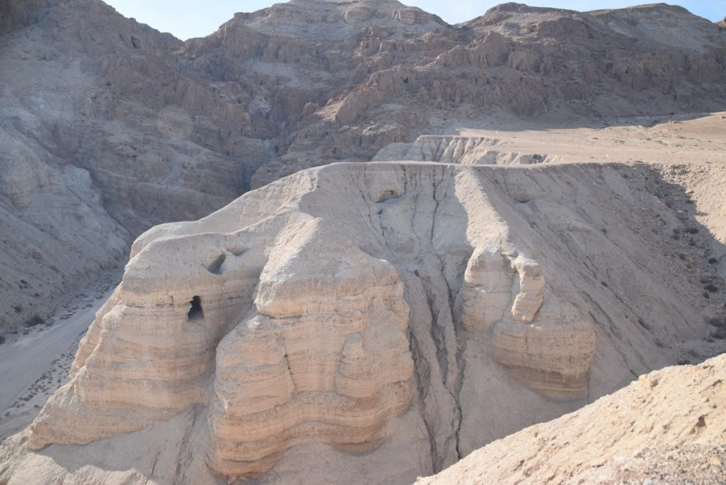 Qumran Cave 4 February 2018 Israel Tour with John DeLancey