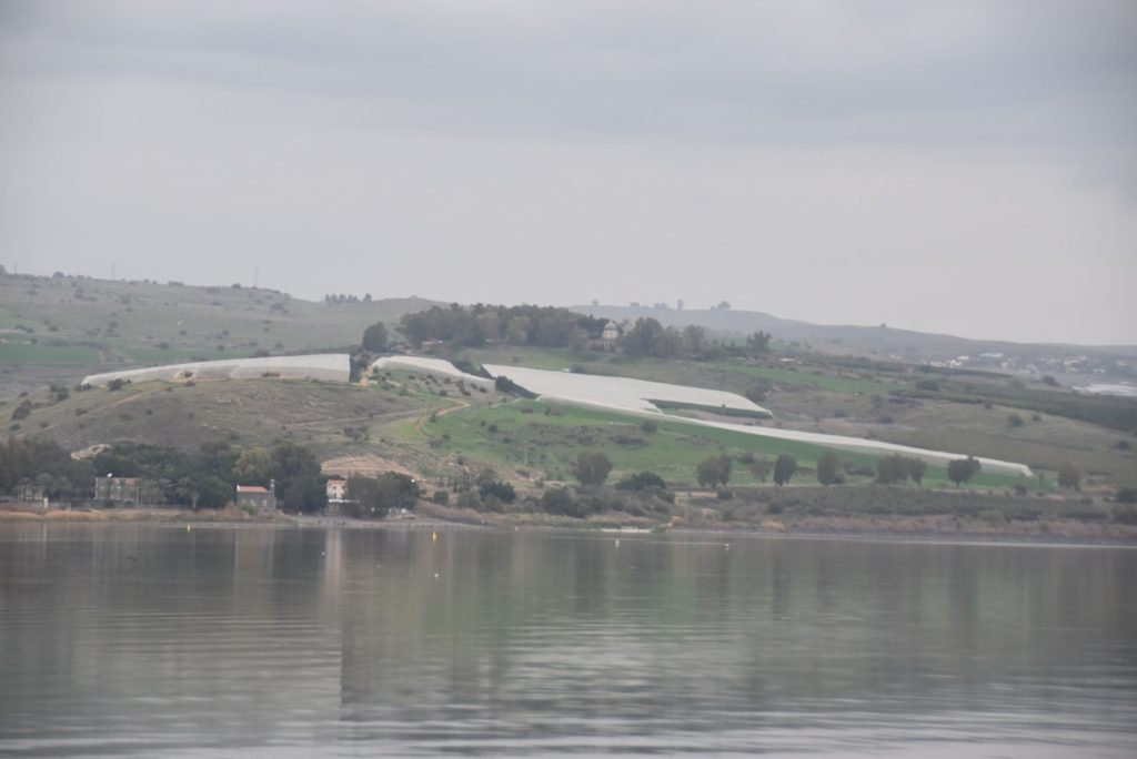 Mt. of Beatitudes February 2018 Israel Tour