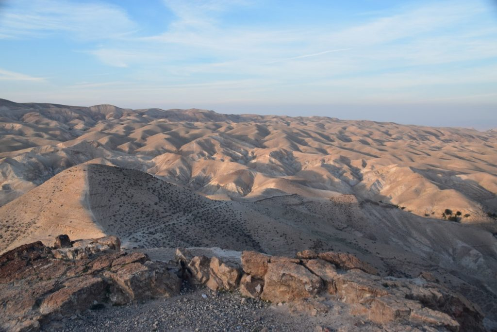 Wadi Qelt February 2018 Israel Tour with John DeLancey