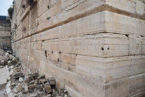 Massive Herodian stones