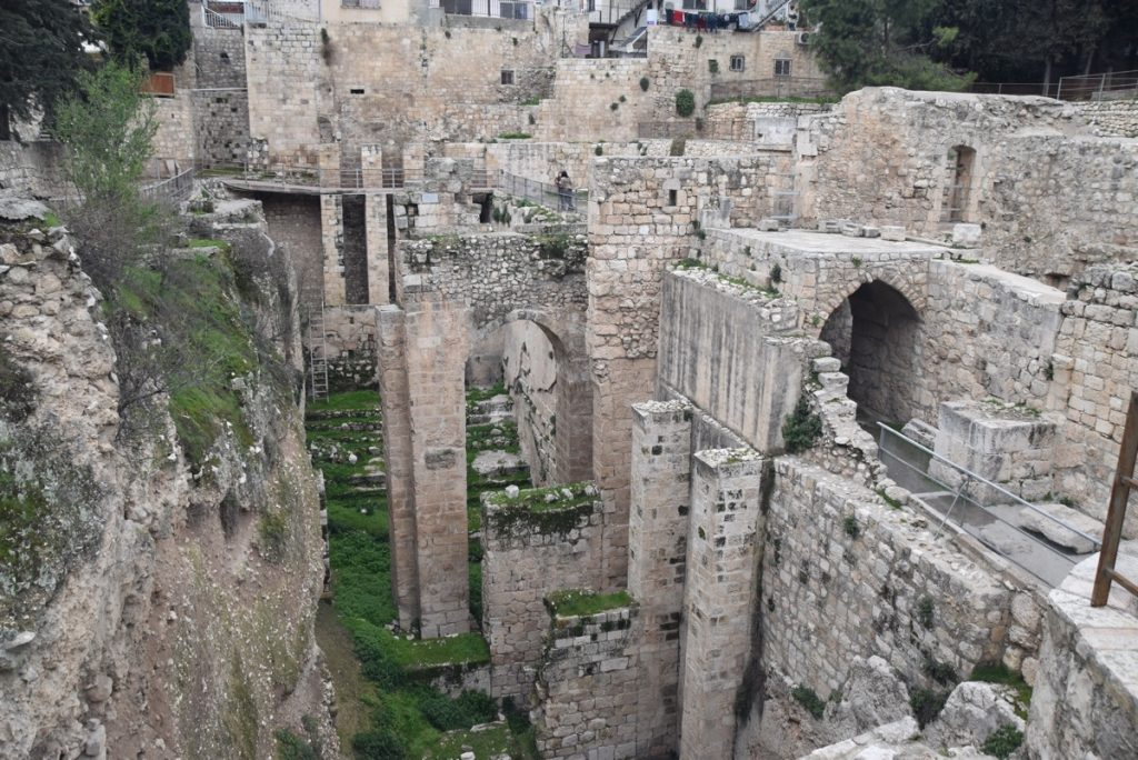 Jerusalem Bethesda February 2018 Israel Tour with John DeLancey
