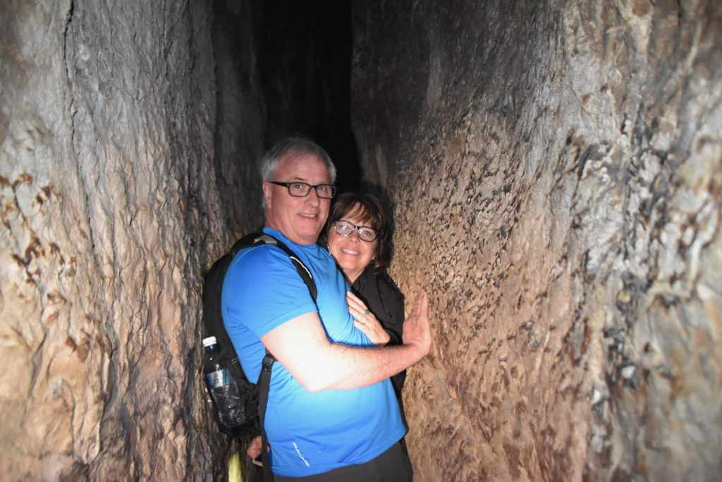 Hezekiah's tunnel Jerusalem February 2018 Israel Tour with John DeLancey