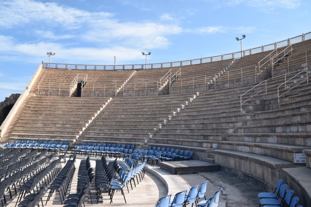 Caesarea March 2018 Israel Tour with John DeLancey