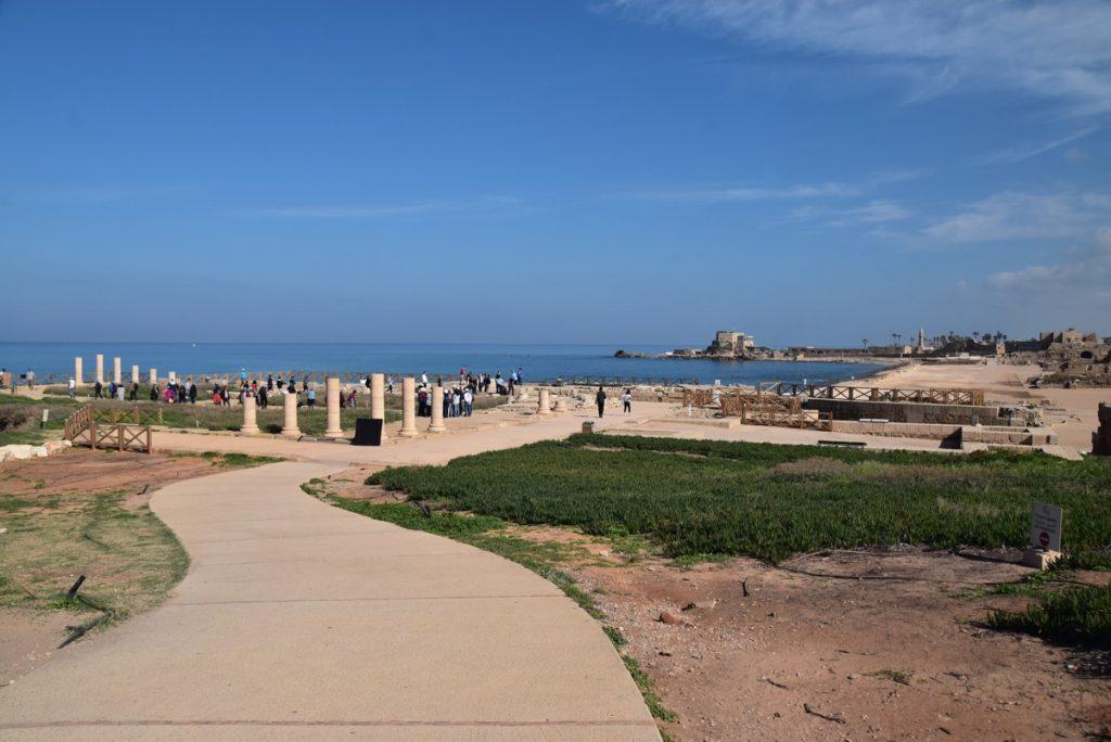 Caesarea March 2018 Israel Tour with John DeLancey