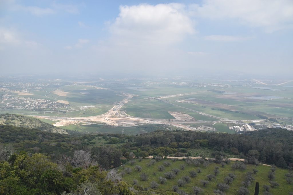 Jezreel Valley March 2018 Israel Tour with John DeLancey