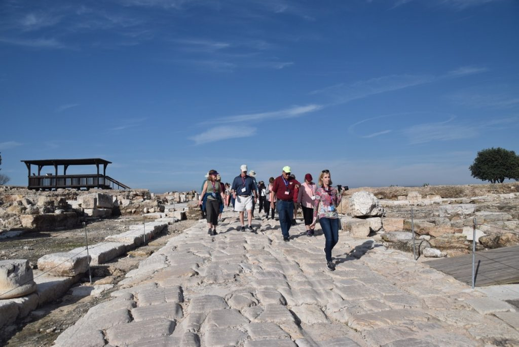 Sepporis March 2018 Israel Tour with John DeLancey