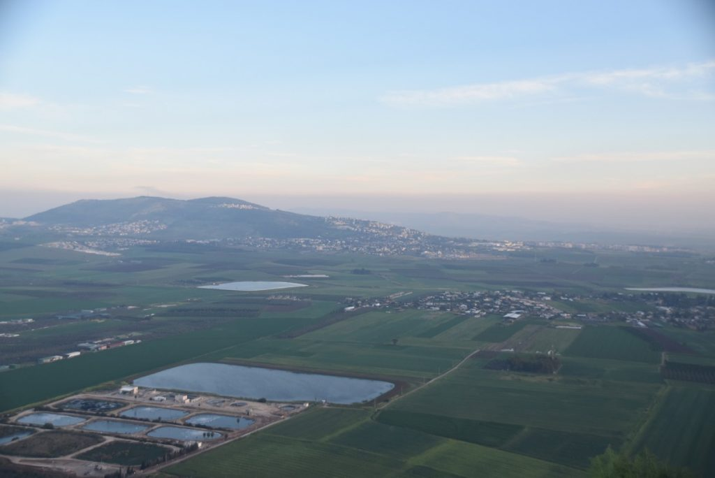 Jezreel Valley Hill of More March 2018 Israel Tour with John DeLancey