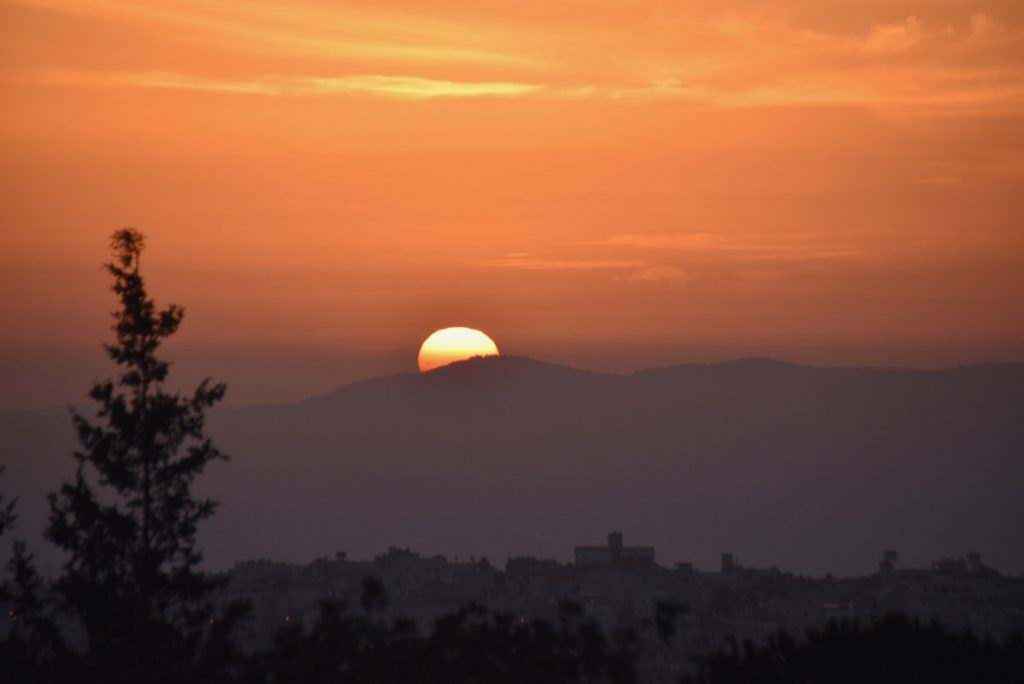 Sunset Israel March 2018 Israel Tour with John DeLancey