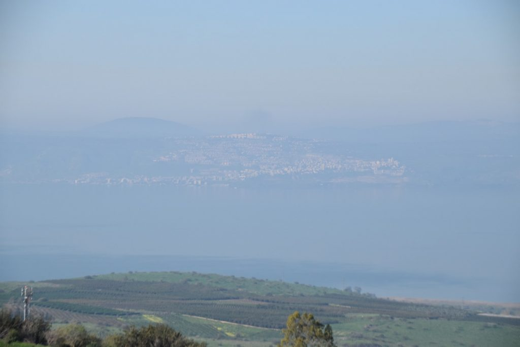 Sea of Galilee Tiberias March 2018 Israel Tour John DeLancey