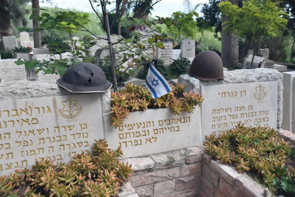 Kinneret Cemetery March 2018 Israel Tour John DeLancey