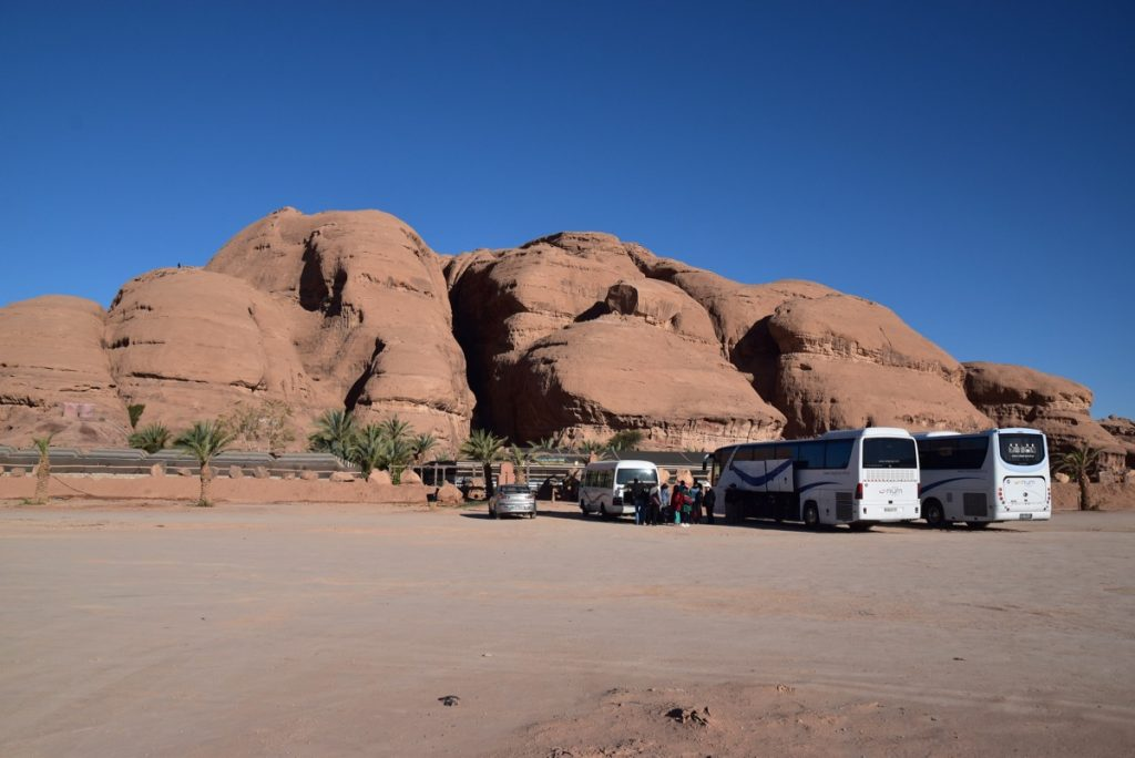 Wadi Rum Captains March 2018 Israel Tour with John DeLancey