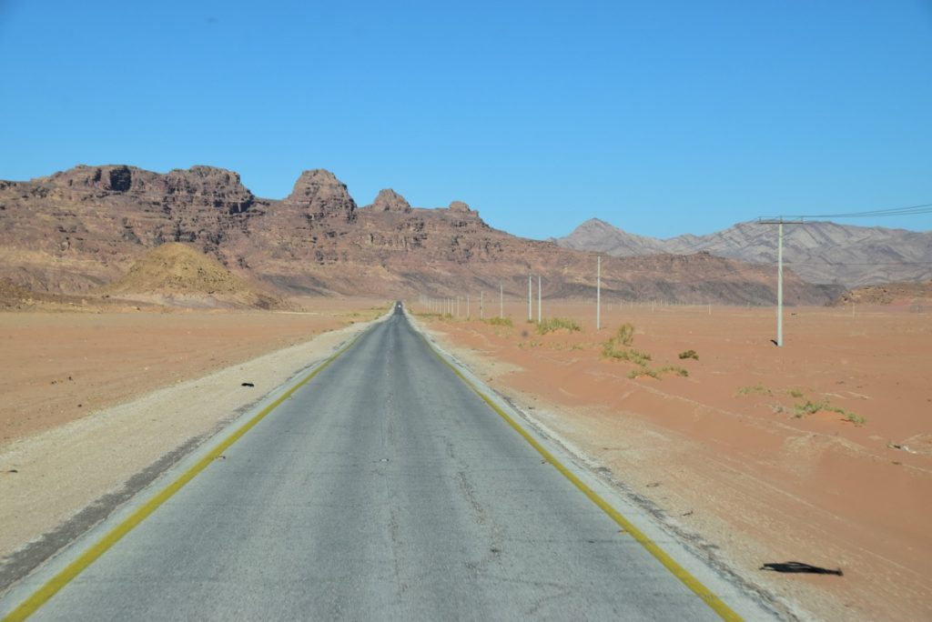 Wadi Rum March 2018 Israel Tour with John DeLancey