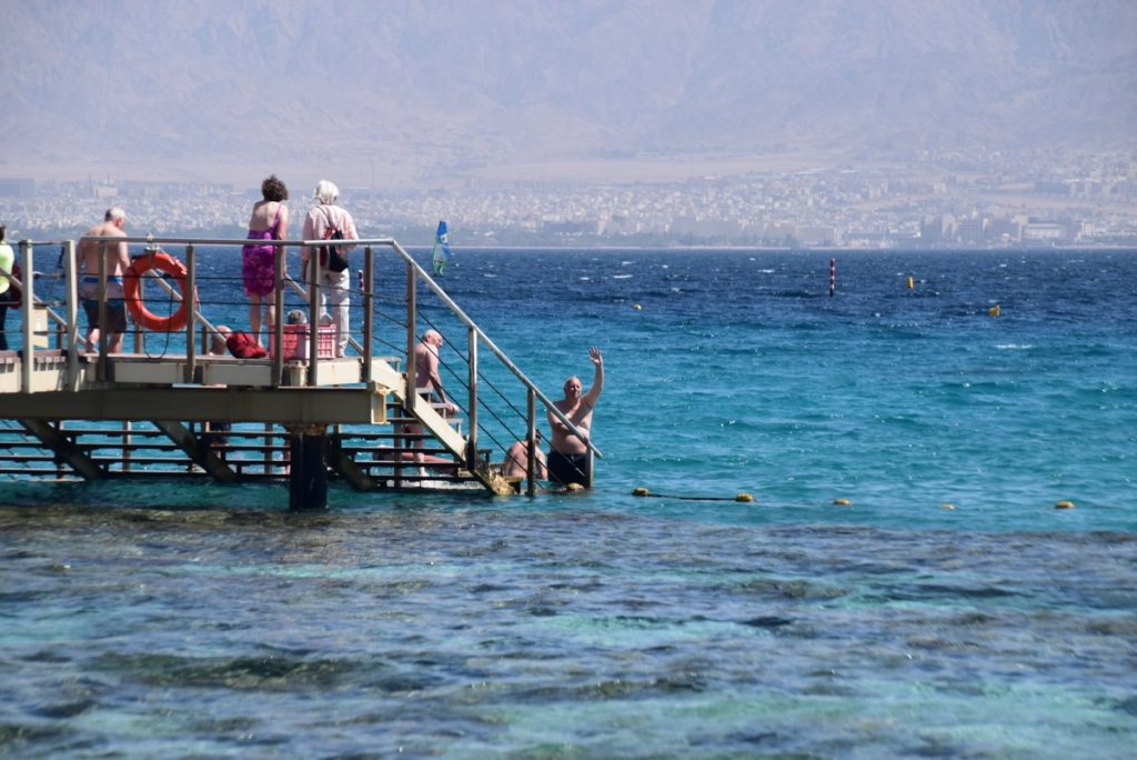 Red Sea Elat March 2018 Israel Tour with John DeLancey