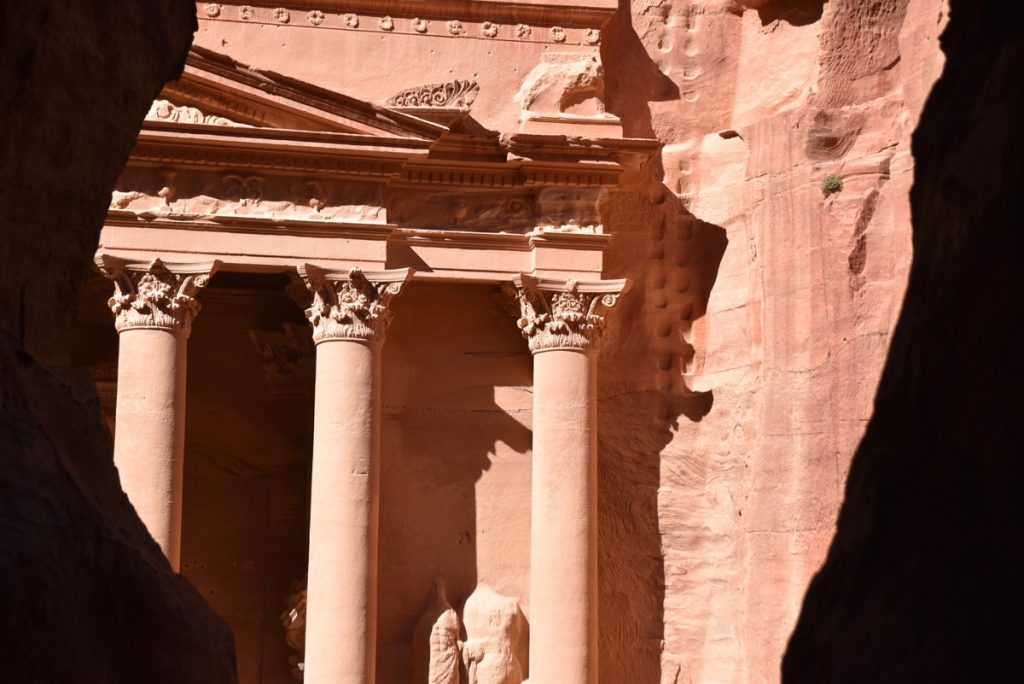 Petra Jordan Treasury March 2018 Israel Tour with John DeLancey