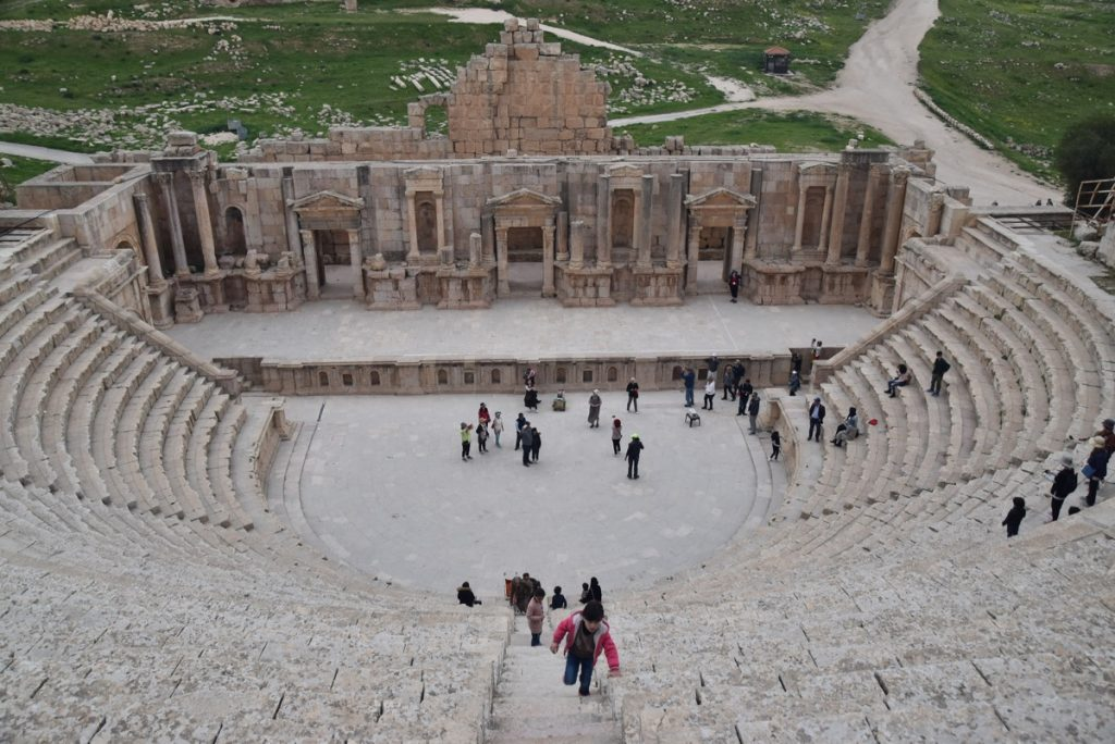 Jerash Jordan March 2018 Israel Tour John DeLancey