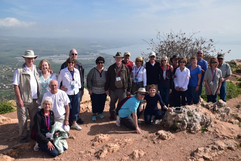Arbel March 2018 Israel Tour Group pictures with John DeLancey