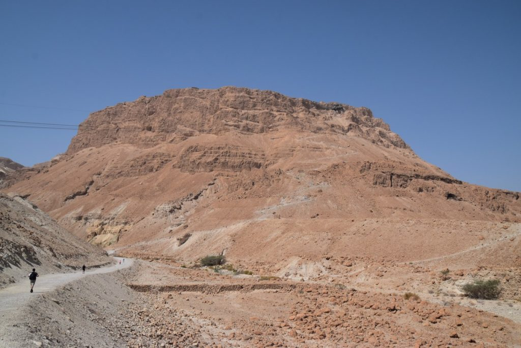 Masada March 2018 Israel Tour with John DeLancey