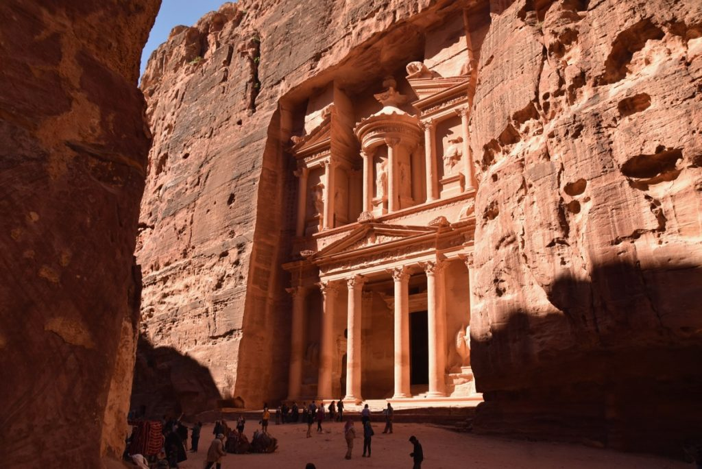 Petra Jordan The Treasury March 2018 Israel Tour with John DeLancey