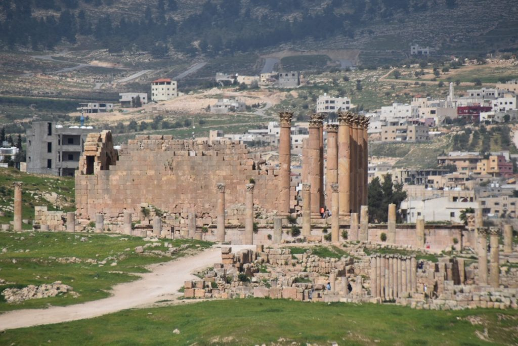 Jerash Jordan Temple Artemis March 2018 Israel Tour John DeLancey