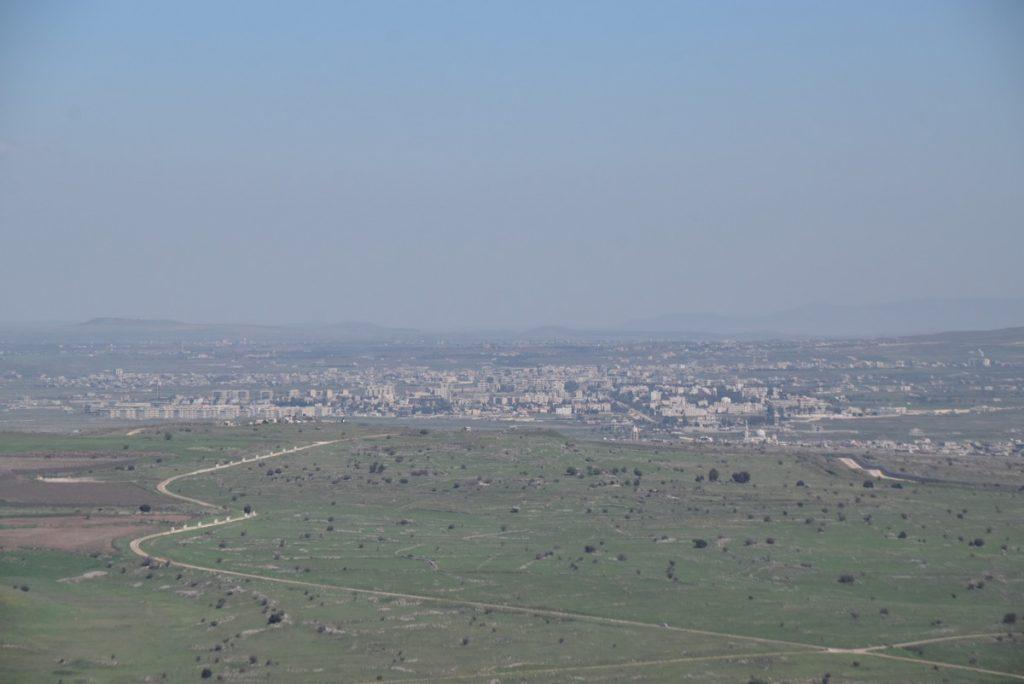Kuneitra Syria March 2018 Israel Tour John DeLancey