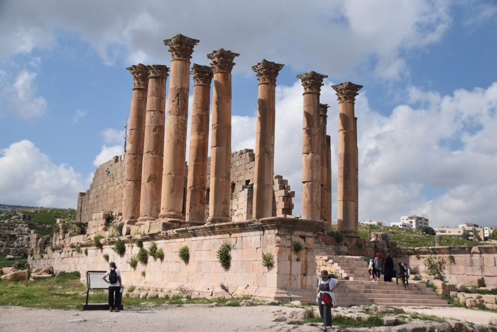 Jerash Jordan Temple of Artemis March 2018 Israel Tour John DeLancey