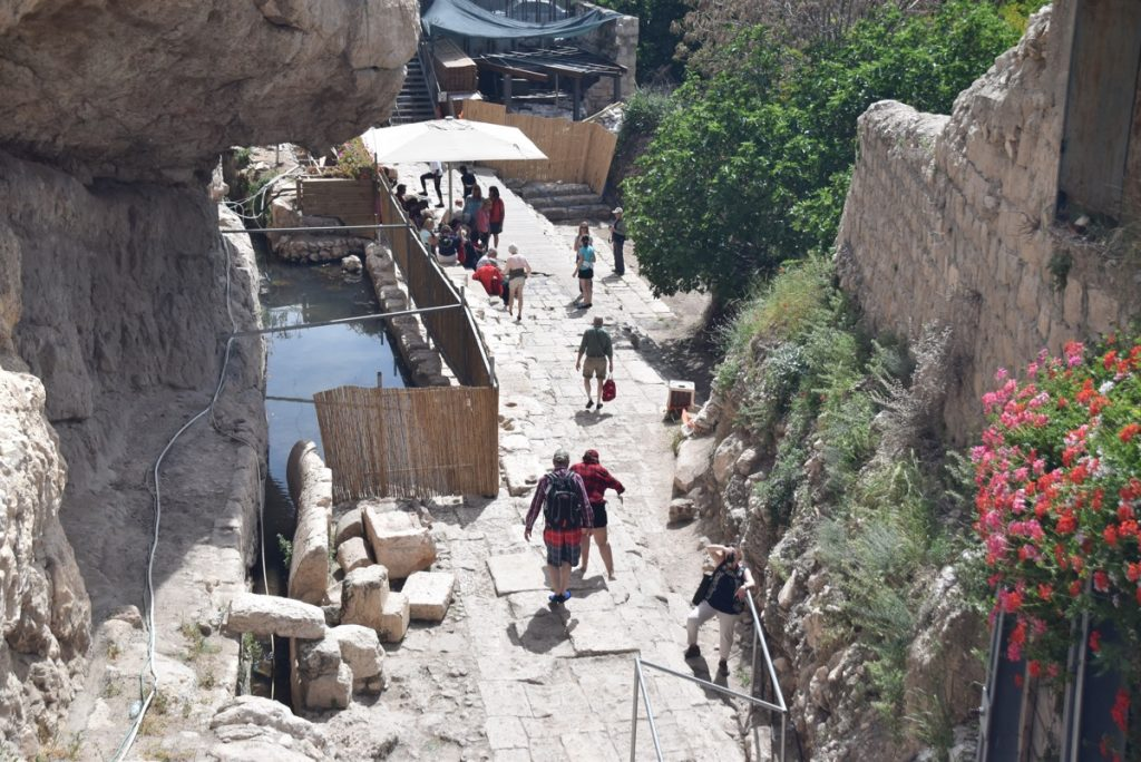 City of David Pool of Siloam Jerusalem March 2018 Israel Tour with John DeLancey