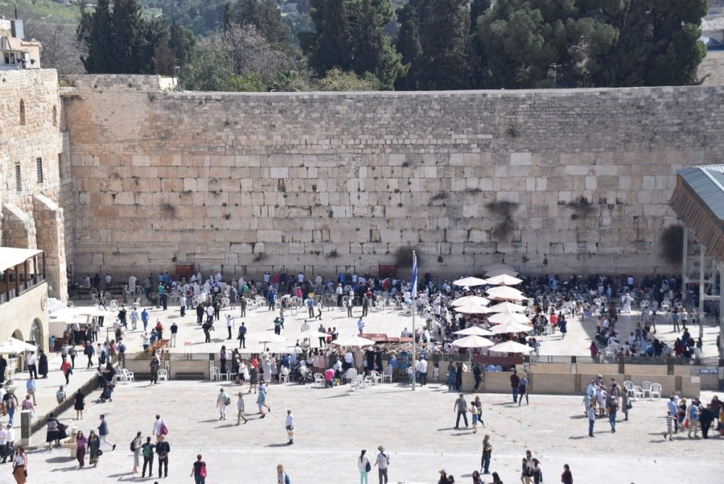 Western Wall March 2018 Israel Tour with John DeLancey