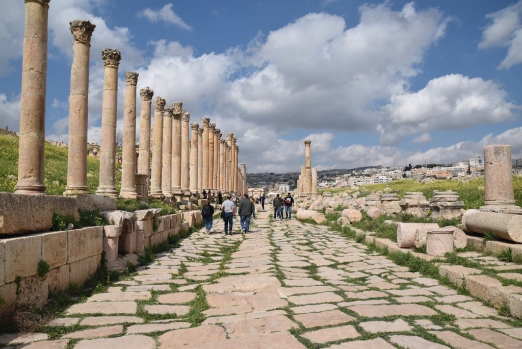 Jerash Jordan Cardo March 2018 Israel Tour John DeLancey
