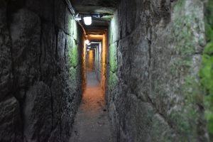 Herodian drainage channel - Jerusalem