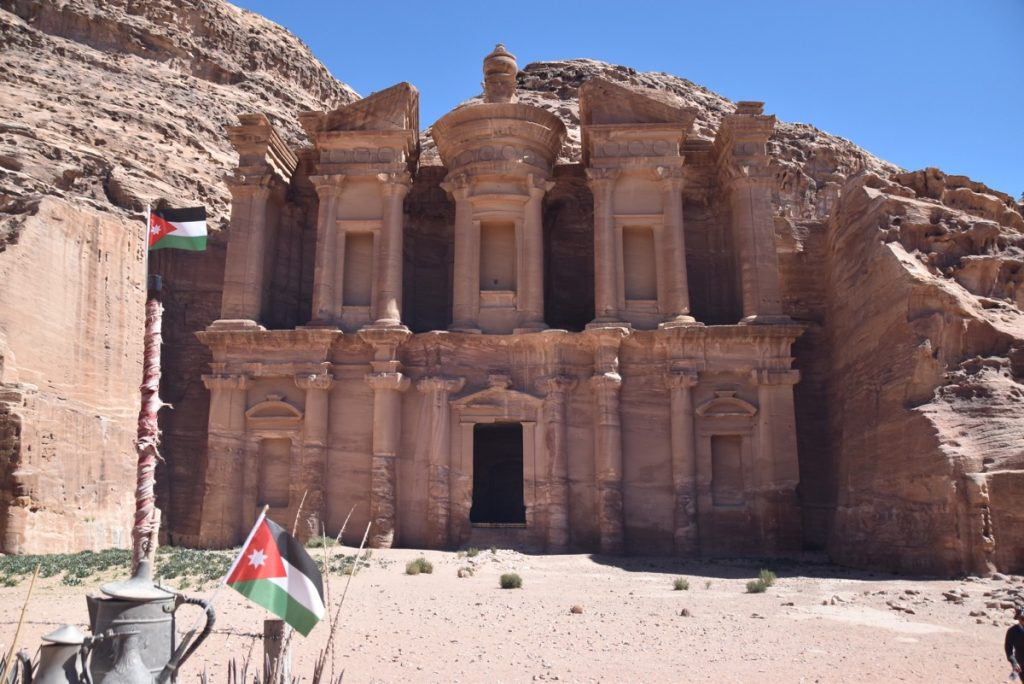 Petra Jordan Monastery March 2018 Israel Tour with John DeLancey