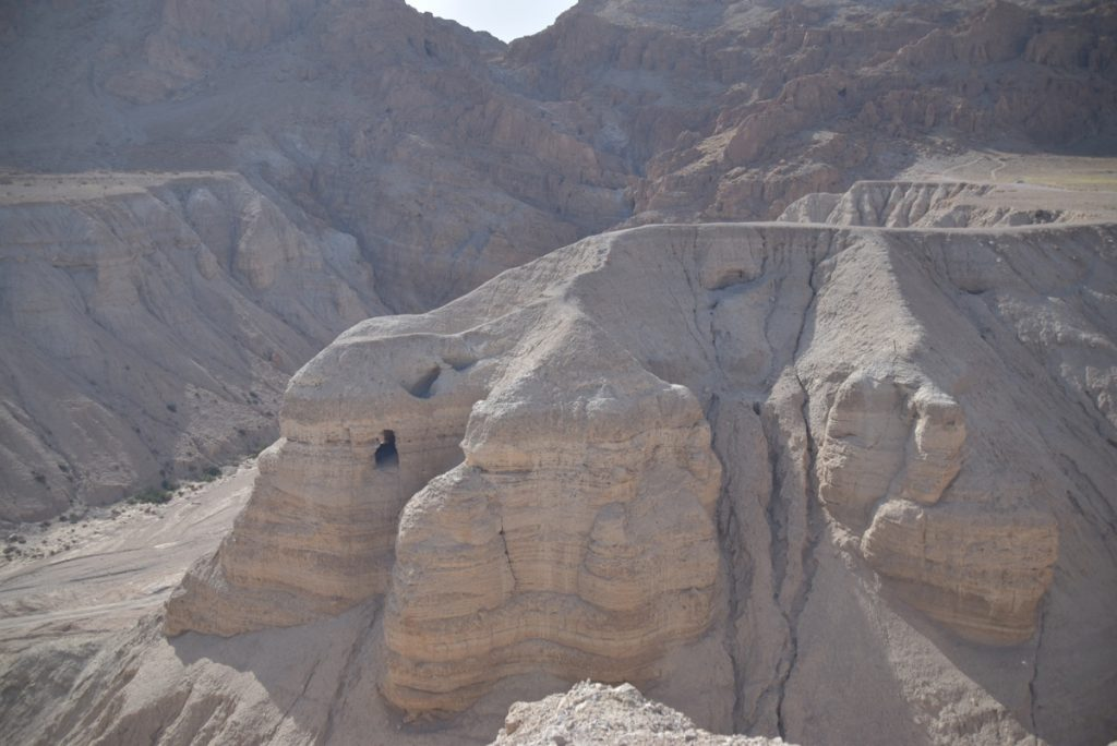 Qumran Cave 4 March 2018 Israel Tour with John DeLancey