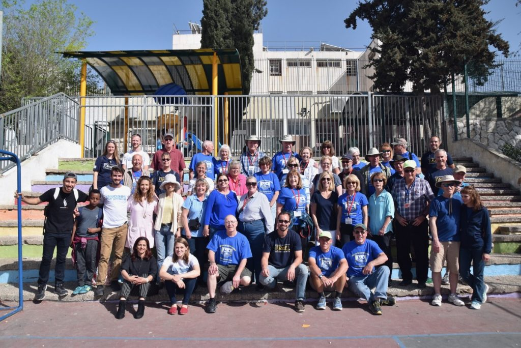 Bridges for Peace Jerusalem March 2018 Israel Tour Group pictures with John DeLancey