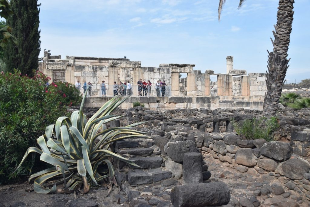Capernaum March 2018 Israel Tour with John DeLancey