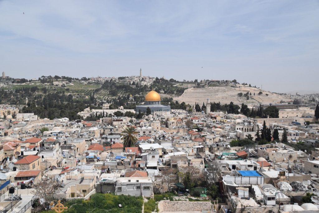 Temple Mount Old City Jerusalem March 2018 Israel Tour with John DeLancey