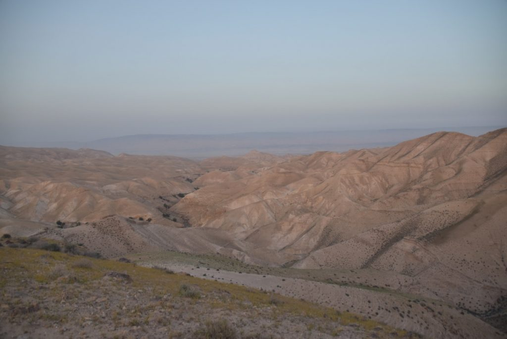 Wadi Qelt Judean Desert March 2018 Israel Tour with John DeLancey