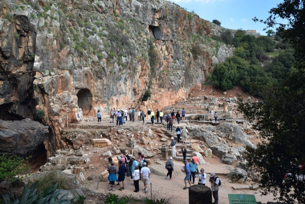 Caesarea Philippi March 2018 Israel Tour John DeLancey
