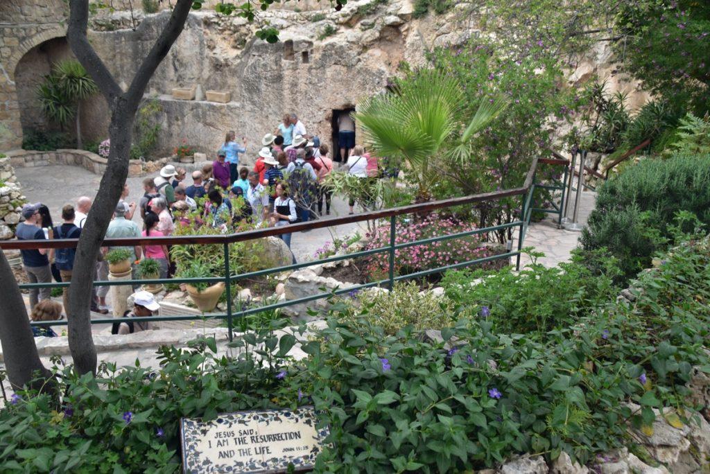 Garden Tomb Jerusalem March 2018 Israel Tour with John DeLancey