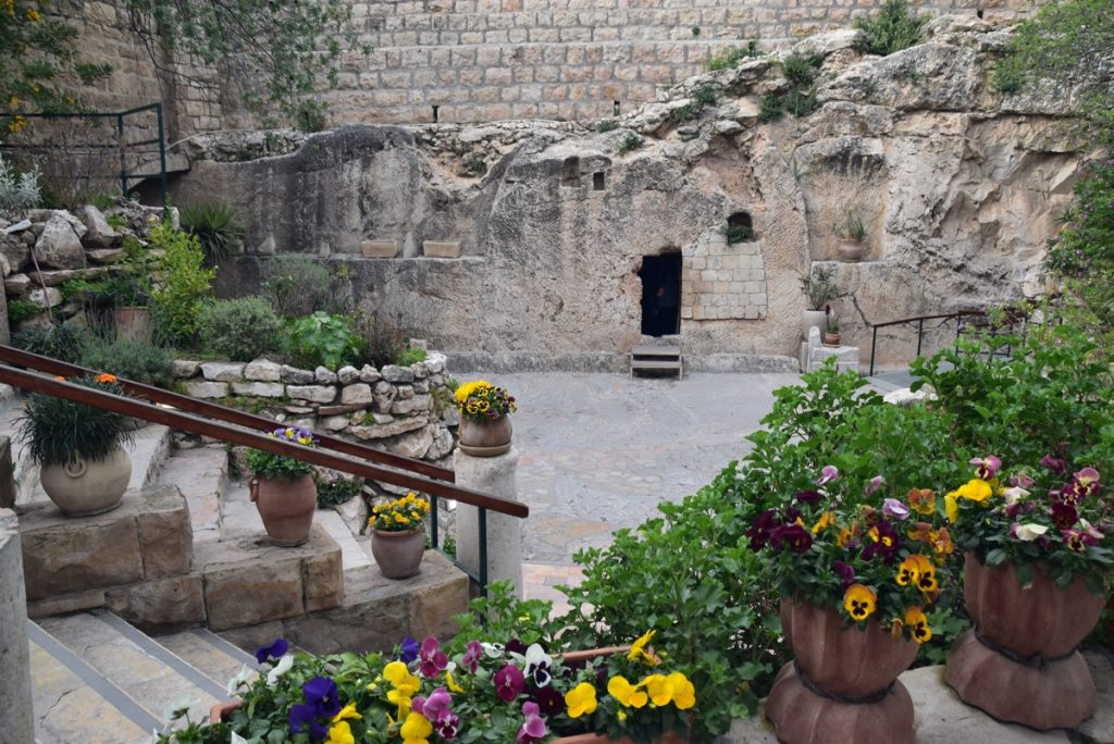 Garden Tomb Jerusalem March 2018 Israel Tour with John DeLancey