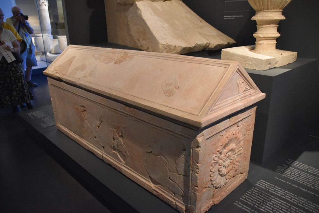 Herod's coffin March 2018 Israel Tour with John DeLancey