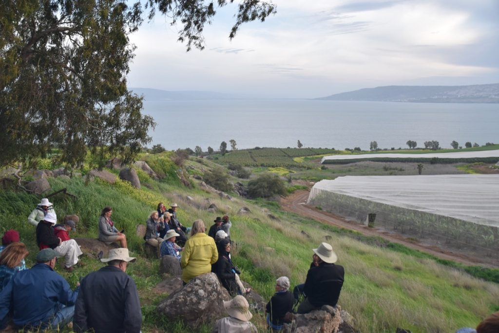 Mt. Beatitudes March 2018 Israel Tour with John DeLancey