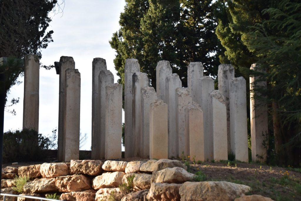 Yad Vashem Children's memorial March 2018 Israel Tour with John DeLancey