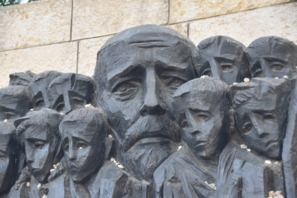 Yad Vashem children's memorial memorial March 2018 Israel Tour with John DeLancey