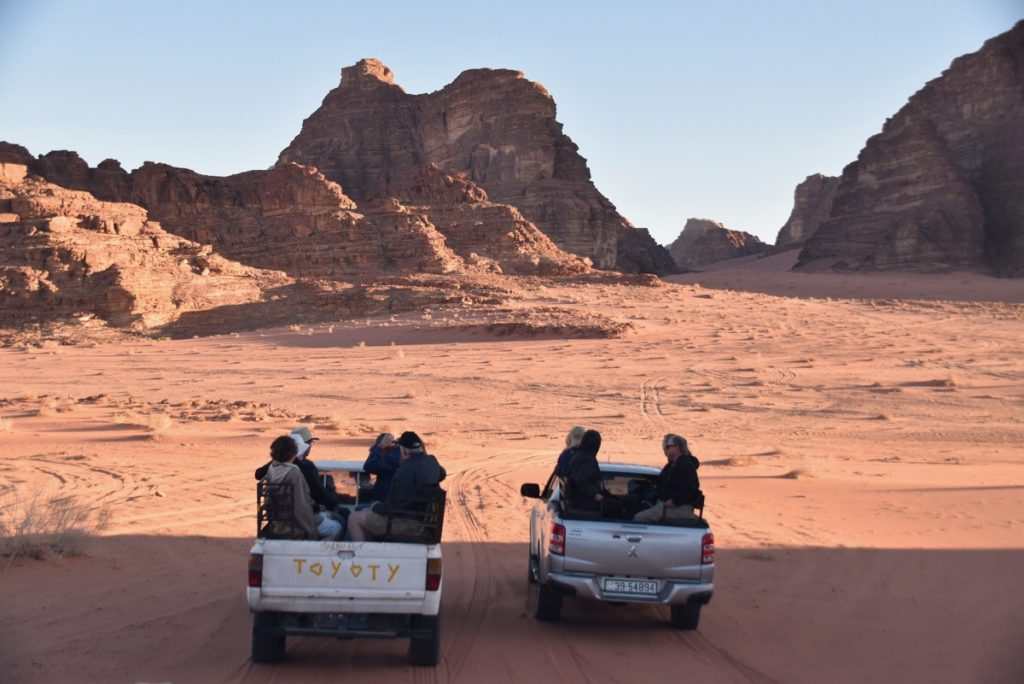 Wadi Rum Jordan March 2018 Israel Tour with John DeLancey
