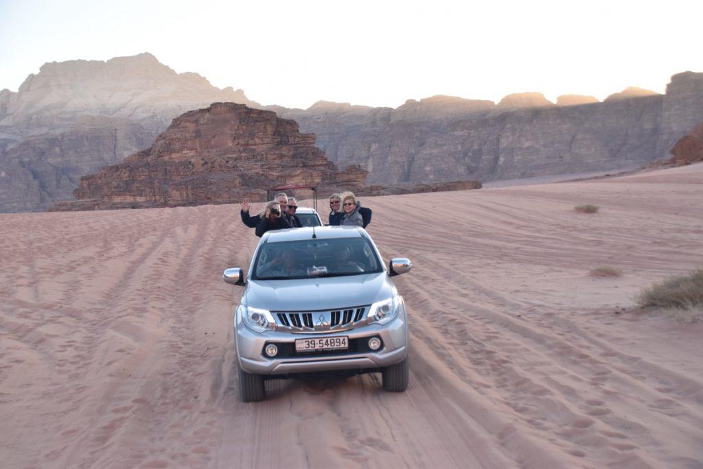 Wadi Rum Jordan March 2018 Israel Tour with John DeLancey