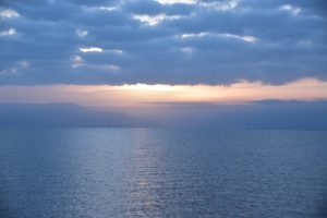 Sea of Galilee sunrise