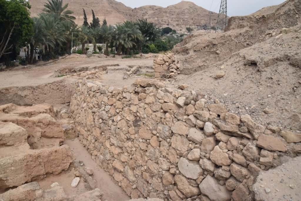 Jericho walls May 2018 Israel Tour Dr. John DeLancey
