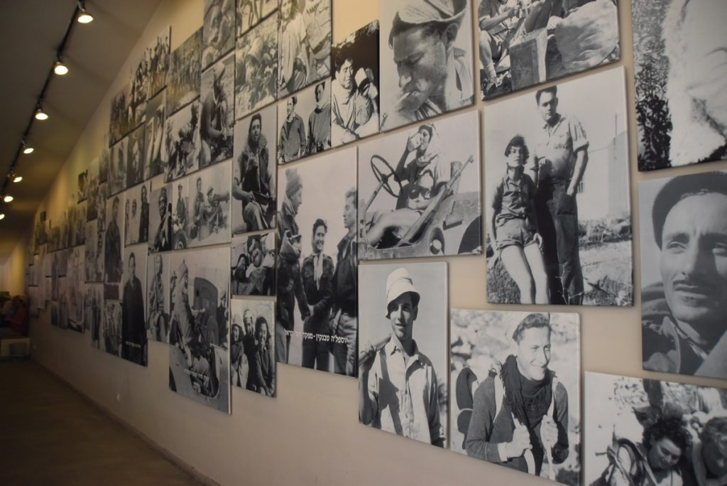 Palmach Museum Tel Aviv May 2018 Israel Tour with John DeLancey