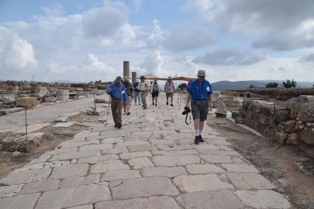 Sepporis May 2018 Israel Tour Dr. John DeLancey