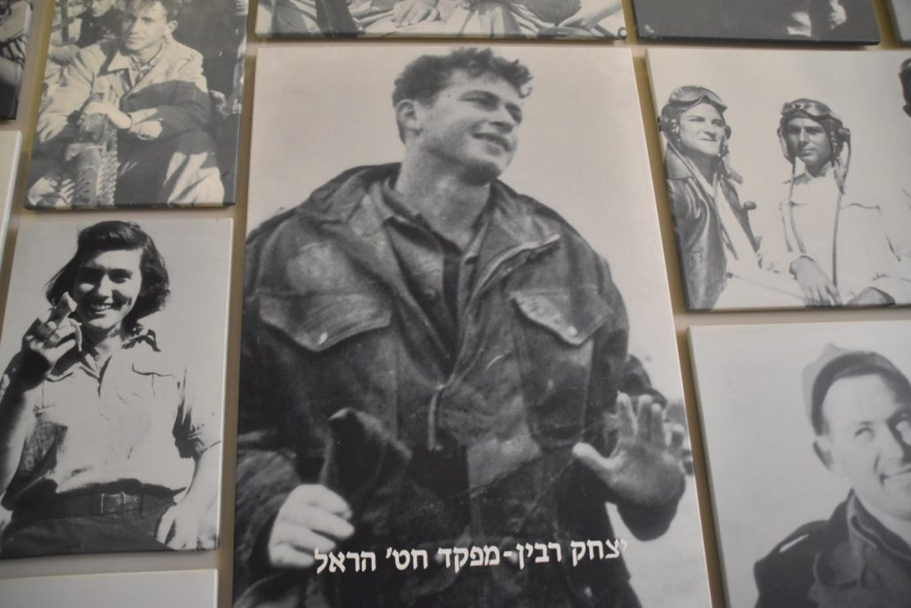 Palmach museum Rabin May 2018 Israel Tour with John DeLancey